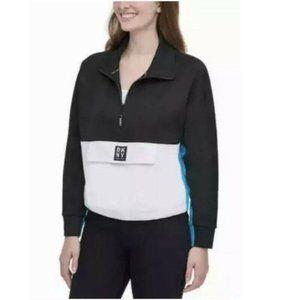 DKNY 1/2 Zip Pullover Sport Sweater